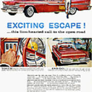 Chrysler Ad, 1959 Art Print