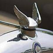 Chrysler Hood Ornament 2 Art Print