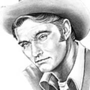 Chuck Conners-rifleman Art Print