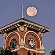 Church Bell Tower Art Print