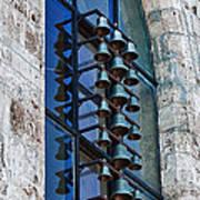 Church Bells Art Print by Shirley Mitchell