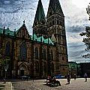 Church in Bremen Germany 2 Art Print