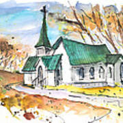 Church In Friars Point Mississippi Art Print