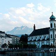 Church In Lucerne Art Print