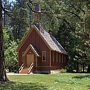 Church In The Vale Art Print