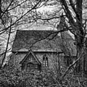 Church In The Woods Print by Dave Godden