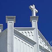 Church Key West Florida Art Print