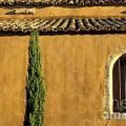 Church. Provence Art Print by Bernard Jaubert