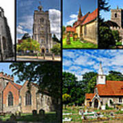 Churches Of Hillingdon Art Print