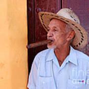 Cigar Art Print
