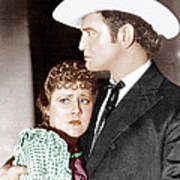Cimarron, From Left Irene Dunne Art Print