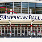 Cincinnati Great American Ball Park Entrance Sign Art Print