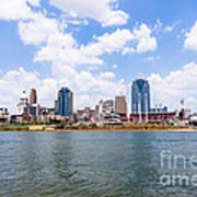 Cincinnati Skyline And Downtown City Buildings Art Print