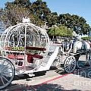 Cinderella Carriage Art Print