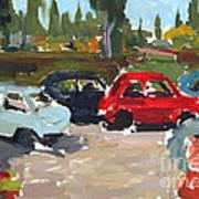 Cinque Cento Rally Radicofani  Art Print