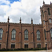Circa 1818 Gothic 1st Presbyterian Church Huntsville Alabama Usa Art Print