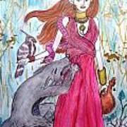 Circe The Sorceress Art Print