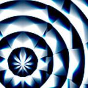 Circle Flower - Macro 1 Art Print