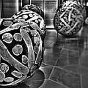 Circles Of Wood Art Print
