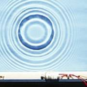 Circular Waves Art Print
