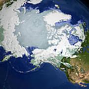 Circum-arctic Permafrost Art Print