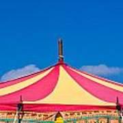Circus Tent Top  Art Print