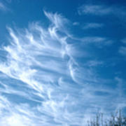 Cirrus Cloud Art Print