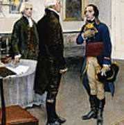Citizen Gen�t, 1793 Art Print