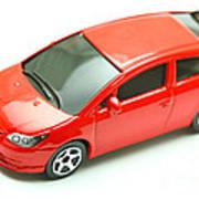 Citroen C4 Model Car Art Print