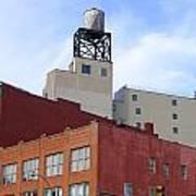 City Buildings On Bowery Art Print