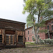City Drug Store And Hotel Meade - Bannack Montana Ghost Town Art Print