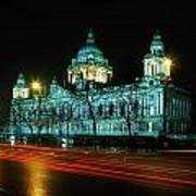 City Hall, Belfast, Ireland Art Print
