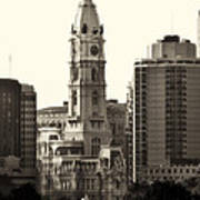 City Hall From The Parkway - Philadelphia Art Print