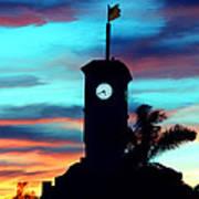 City Hall In Deerfield Beach Florida Art Print