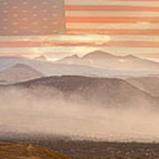 City Of Boulder Colorado Usa Wildfire Season Art Print