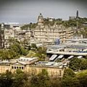 City Of Edinburgh Art Print