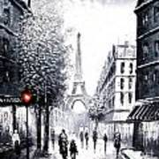 City Of Love Art Print