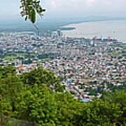 City Of Port Of Spain Trinidad 3 Art Print
