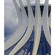 Citymarks Brasilia Art Print by Roberto Alamino