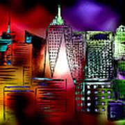 Cityscape 3 Art Print