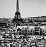 Cityscape Of Paris Art Print by Sbk_20d Pictures