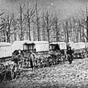 Civil War: Ambulances, C1864 Art Print