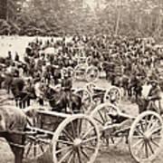 Civil War: Artillery, 1862 Art Print