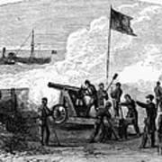Civil War Battery Art Print