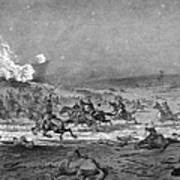 Civil War: Cavalry Charge Art Print
