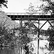 Civil War: Foot Bridge Art Print