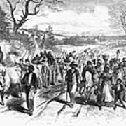 Civil War: Freedmen, 1863 Print by Granger