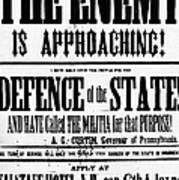 Civil War: Lees Campaign Art Print