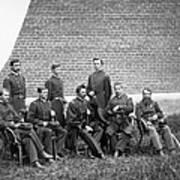 Civil War Officers Art Print