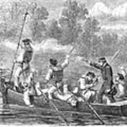 Civil War: Potomac River Art Print